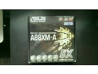 Asus A88XM-A fm2+ motherboard new in box
