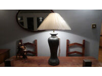 Extra Large Hotel Type Contemporary Ceramic Table Lampshade 85cm Tall