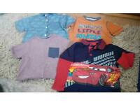 Boys aged 2-3 years top bundle