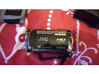JVC HD camcorder and kit.