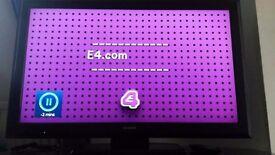 "40"" sony bravia HD LCD TV"
