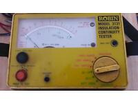 Insulation continuity tester
