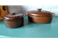 Gorgeous Retro 1970's Wedgewood Pennine Oven to Table Dishes
