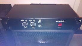 Dj power amplifier 2*200watts