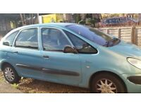 citreon Picasso for sale spares or repairs
