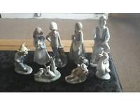 Antique Royal Doulton, Goebel & Lladro figurines