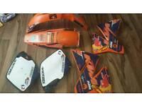 KTM 250 Plastics