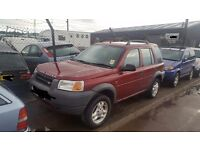 Land Rover Freelander - Breaking For Spares