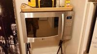 Lg stainless steel microwave convection oven