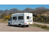 Dog-friendly Motorhome available from Monday 19th July