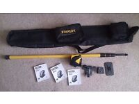 Stanley Fat Max CLLi Cross Line Laser Level Extend Pole Kit used 4 or 5 times