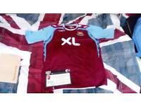 West ham signed shirt 2007/08