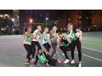 January Back to Netball training sessions