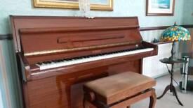 Rush offer.. Knight K6 mahogany Piano and stool