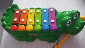 Fisher Price Crocodile Xylophone