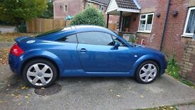 Audi tt 1.8 turbo quattro blue
