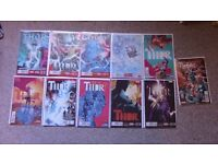 THOR (2014) - Female Thor comics, Issues #1 to #8, including a few extras - PERFECT CONDITION
