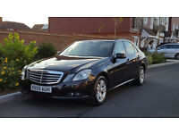 Mercedes E220 CDI BlueEFFICEIENCY SE Auto (2009/59 Reg) + SAT NAV + HEATED SEATS + MASSIVE SPEC