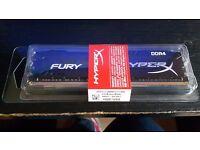 HyperX FURY 8 GB DDR4 2666 MHz Memory Module - Black (Skylake Ready)