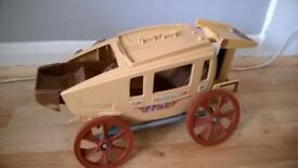 Vintage Playskool Wagon toy