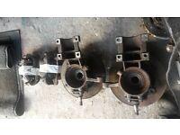 02 - 04 swb fiat ducato citroen relay peugeot boxer hub brake caliper sliding n/s o/s door mirror