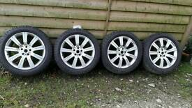 Range rover discovery volkswagon t5 20 alloy wheels general grabber