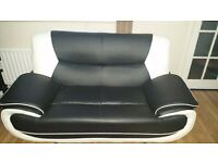3 + 2 seater italian leather sofas