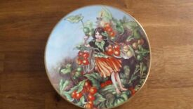 Flower Fairy Plate by Cicely Mary Barker - The Black Bryony Fairy