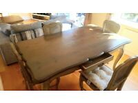 Barker and Stonehouse Dining Table and Chairs, Coffee and Side Table,