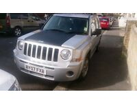 FOR SALE JEEP PATRIOT 2.0 DIESEL CRD 140 BHP 6 SPEED IN LOW MILES