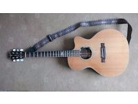 ARIA SANDPIPER STANDARD - SP-STDN – ELECTRIC ACOUSTIC GUITAR - mint condition