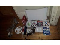 Nintento Wii, fitness board + many extras for sale
