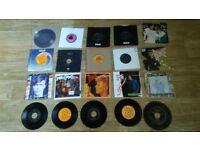20 x david bowie vinyl 7 inch singles