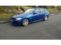 Selling my BMW 320D M Sport Touring in good condition, nice car.