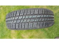 """Renault clio 14"""" Brand new tyre comes with the rim."""