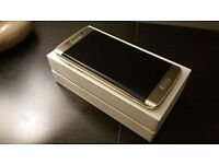 Samsung S6 Edge Gold Platinum Boxed Like New