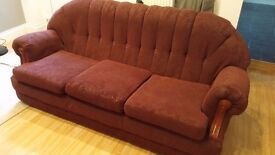 FREE Sofa - 3 seater and 1 chair matching