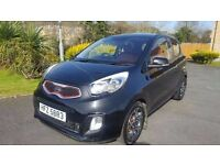 2011 Kia Picanto 1.25 Equinox – Lovely looking and driving example, leather / alloys, full history