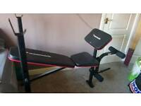 Maximuscle weights bench multi gym