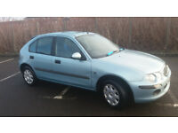 2002(02)ROVER 25 1.6 AUTOMATIC MET BLUE,LOW MILES,GREAT RUNNER,CHEAP AUTOMATIC CAR