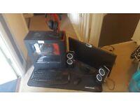 Custom Gaming PC Entire Setup Desktop/Monitor/Accessories + More! - Bargain £499.99 O.V.N.O