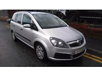 2005 Vauxhall Zafira 1.6 i 16v Life 5dr MPV, FSH, Warranty and AA Breakdown available, £1,595