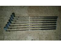 Tetliest AP2 irons, with x2 vokey wedges and x4 2013 woods to driver all used