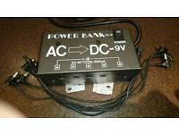 Power Bank DC-9 effects pedal