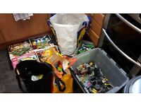 mixed lego and figures and spares