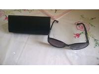 Authentic Fendi FS5201 Sunglasses Dark Brown