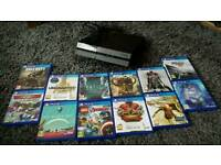 Ps4+controller + 12 games Excellent condition