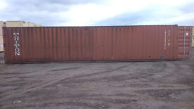 40ft storage container perfect condition VAT FREE transport painting