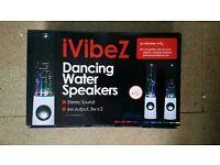 IVIBEZ DANCING WATER SPEAKERS