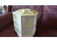 Lori Greiner Cosmetic/Make-Up Storage Carousel- has been used-good condition